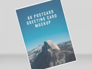 Diseño de folleto A6 1 cara