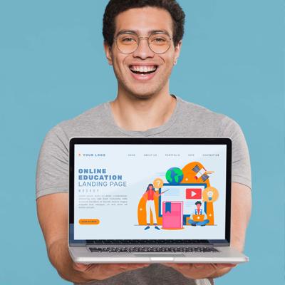 Diseño web escuela academia online