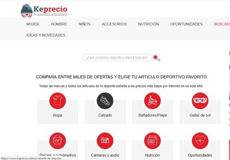 Keprecio web principal
