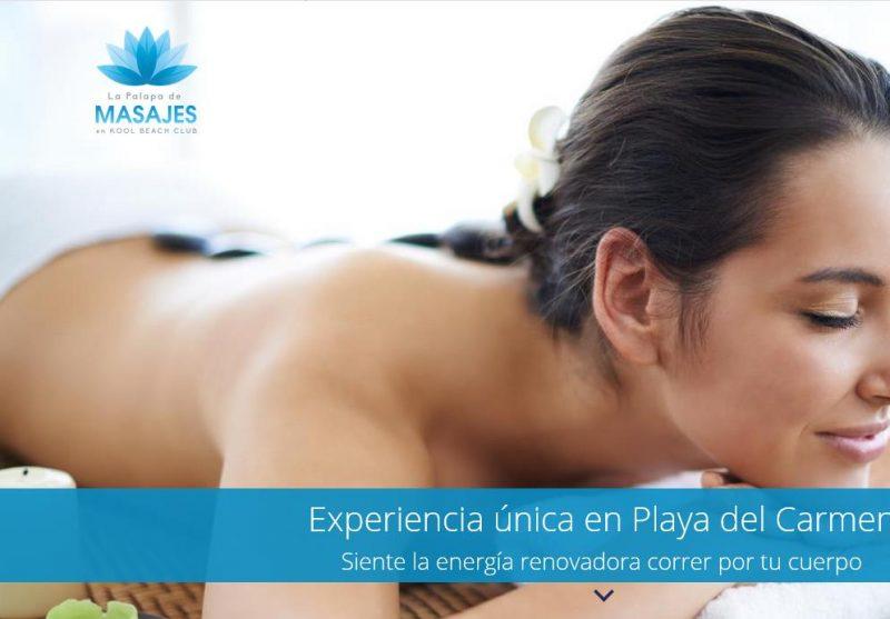 La palapa de masajes web principal