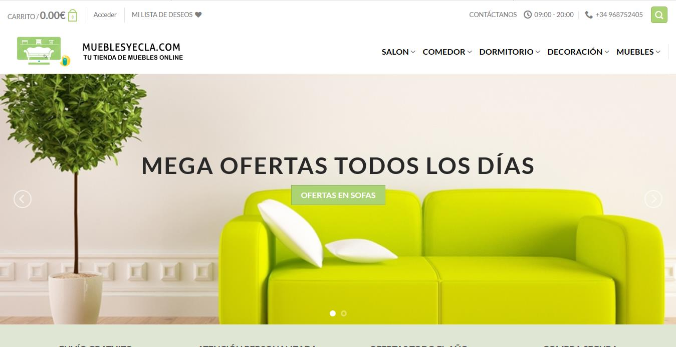 muebles yecla web principal
