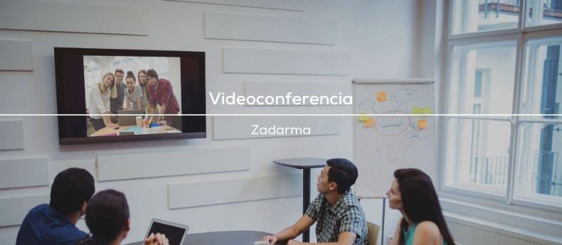 sala de videoconferencia zadarma